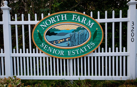 North Farm Estates Entrance